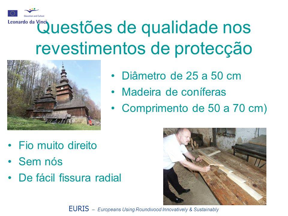 Questões de qualidade nos revestimentos de protecção