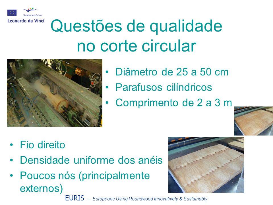 Questões de qualidade no corte circular