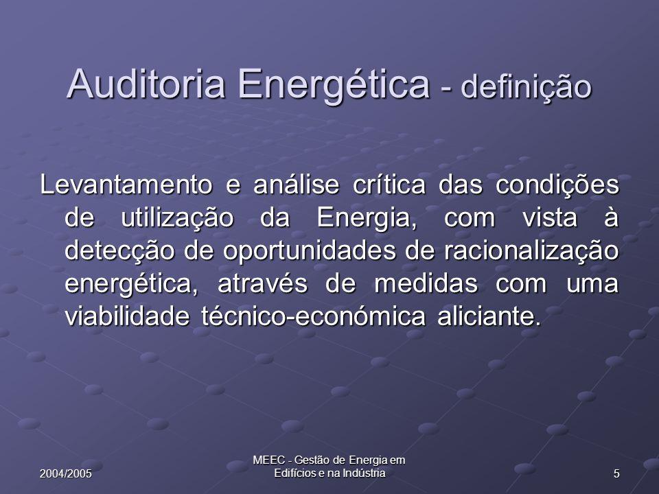 Auditoria Energética - definição