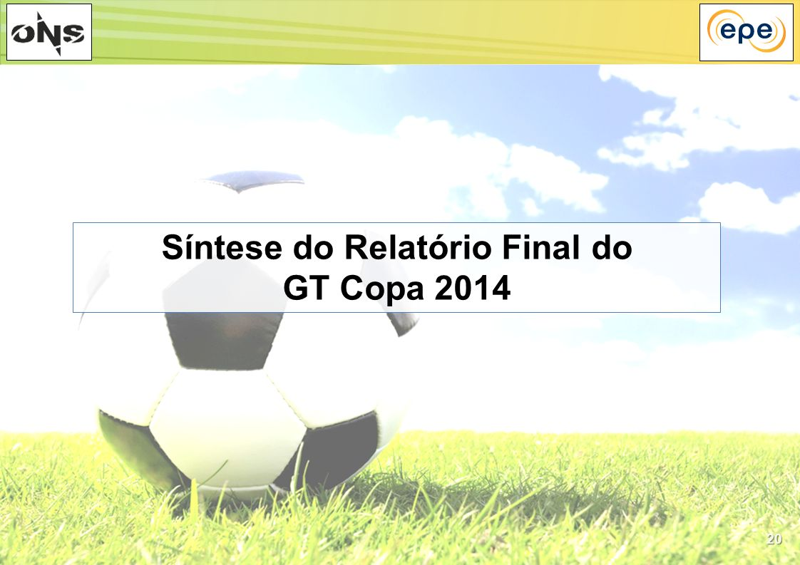 Síntese do Relatório Final do