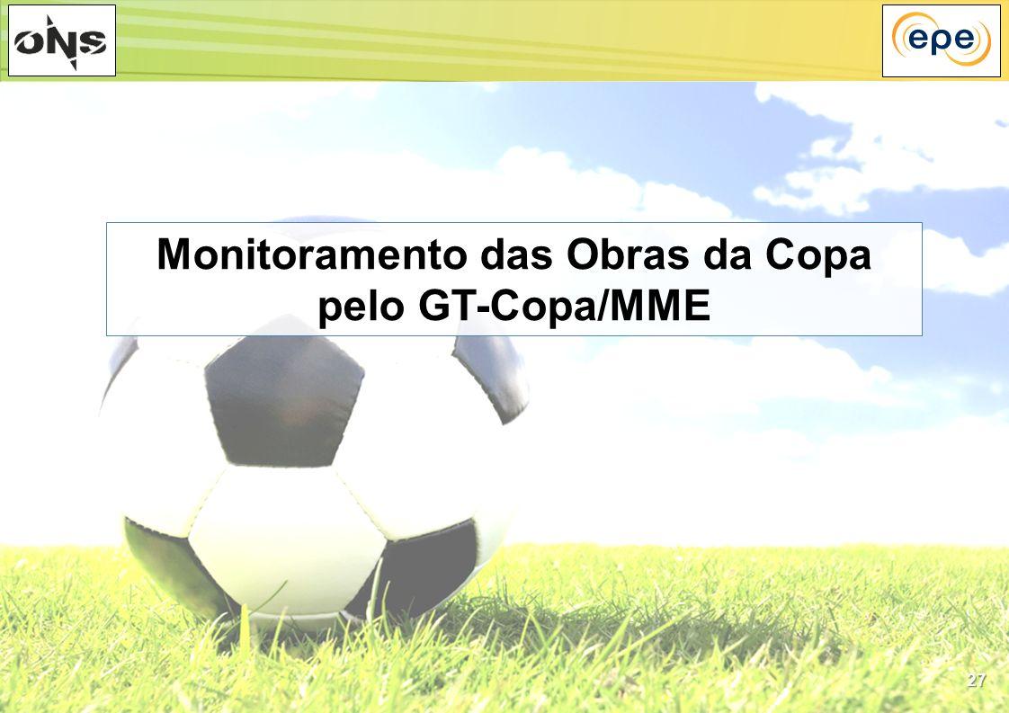 Monitoramento das Obras da Copa pelo GT-Copa/MME