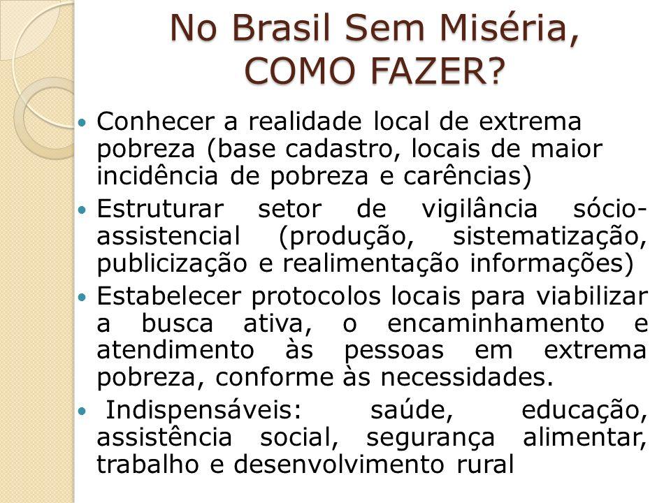 No Brasil Sem Miséria, COMO FAZER