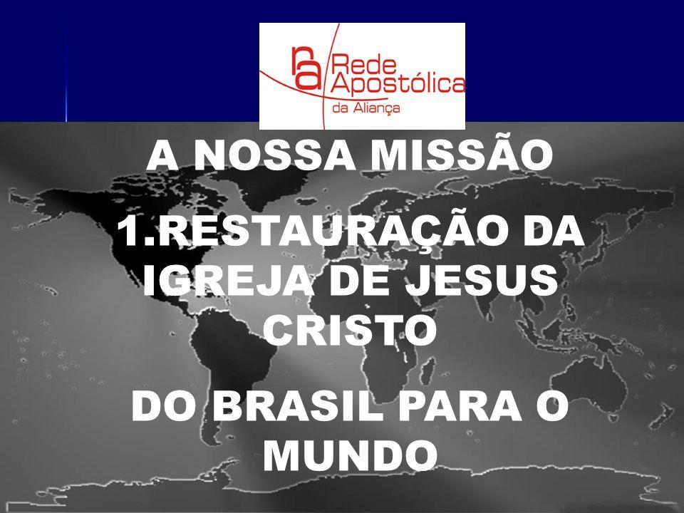 1.RESTAURAÇÃO DA IGREJA DE JESUS CRISTO