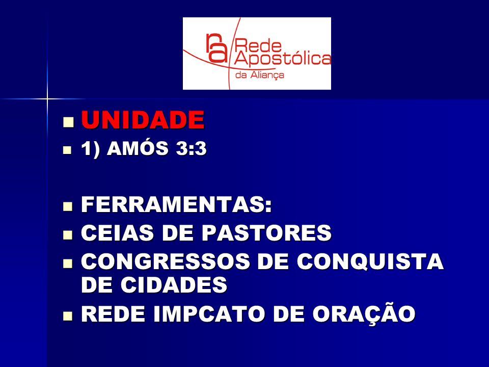 UNIDADE FERRAMENTAS: CEIAS DE PASTORES