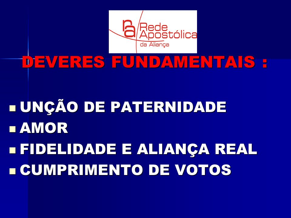 DEVERES FUNDAMENTAIS :