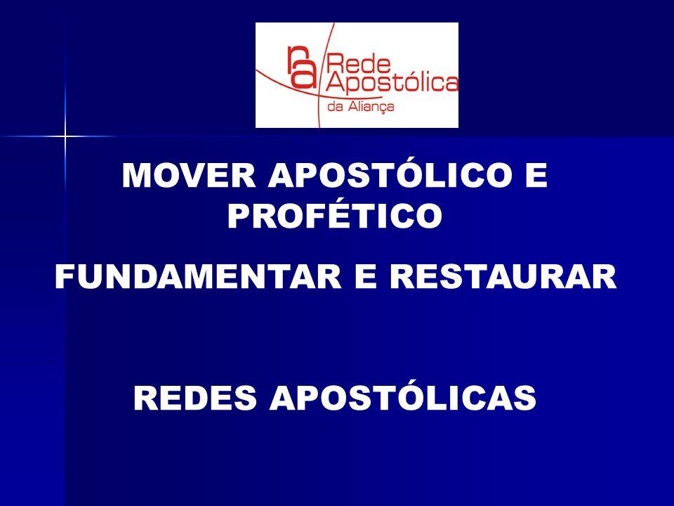 MOVER APOSTÓLICO E PROFÉTICO FUNDAMENTAR E RESTAURAR