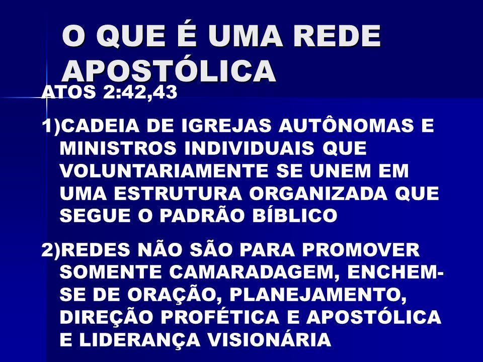 O QUE É UMA REDE APOSTÓLICA