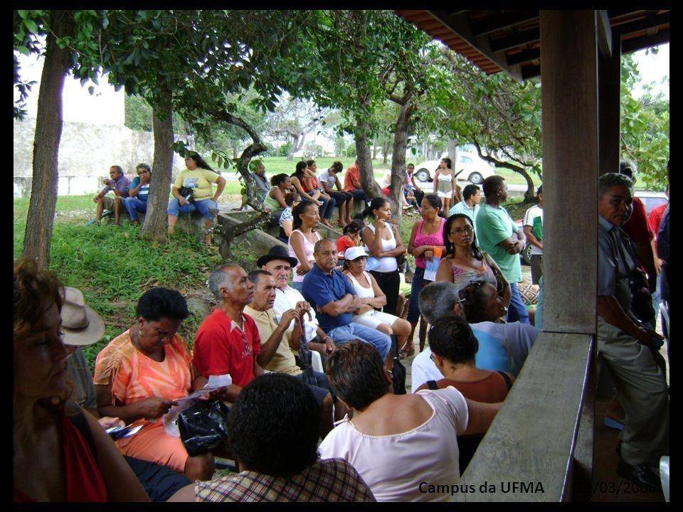 Campus da UFMA 11/03/2008