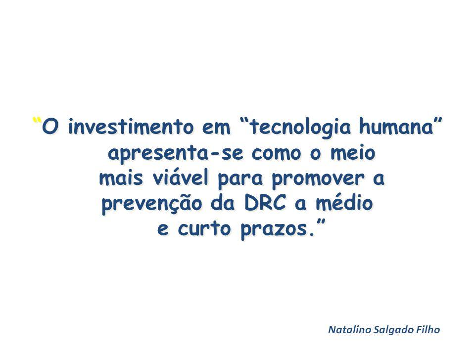 O investimento em tecnologia humana apresenta-se como o meio