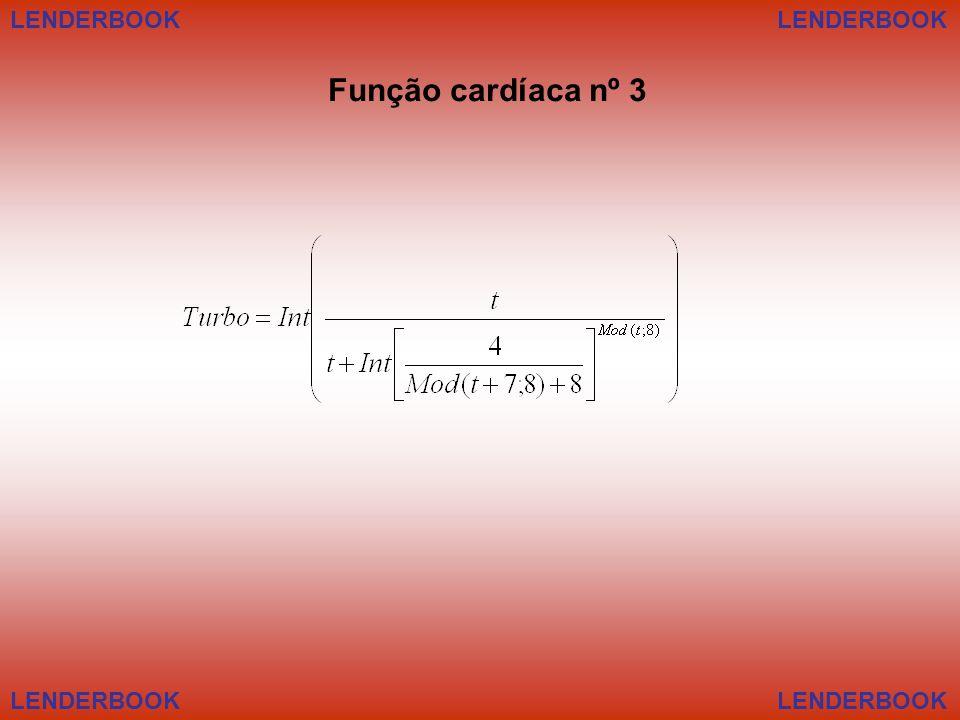 LENDERBOOK LENDERBOOK Função cardíaca nº 3 LENDERBOOK LENDERBOOK