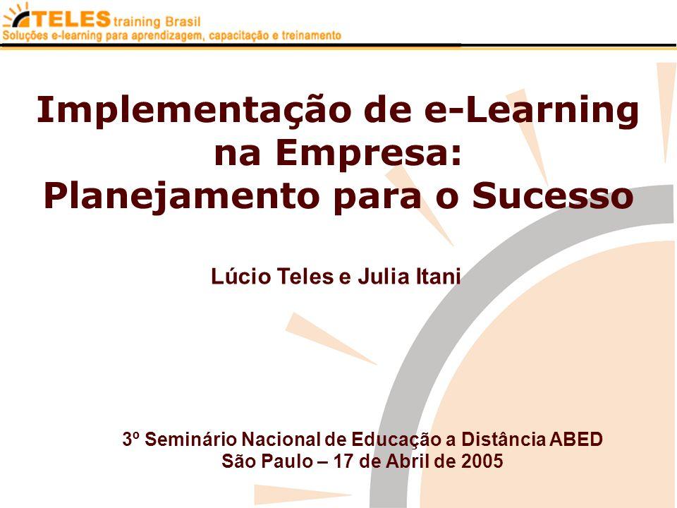 Implementação de e-Learning na Empresa: Planejamento para o Sucesso