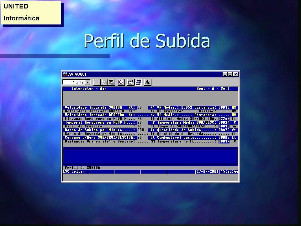 UNITED Informática Perfil de Subida