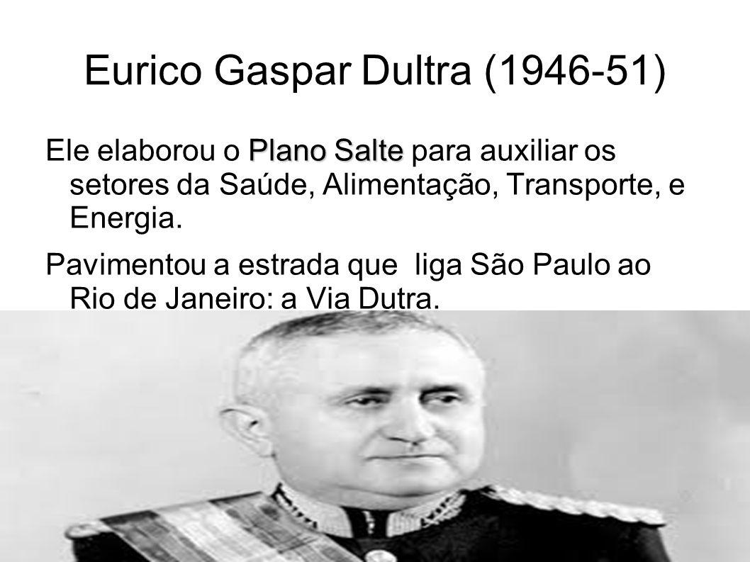 Eurico Gaspar Dultra (1946-51)