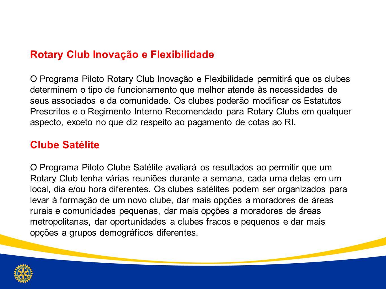 Rotary Club Inovação e Flexibilidade