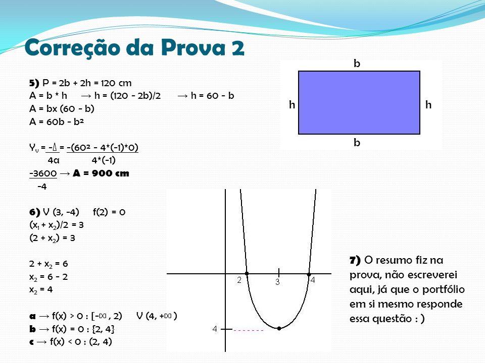 Correção da Prova 2 b.