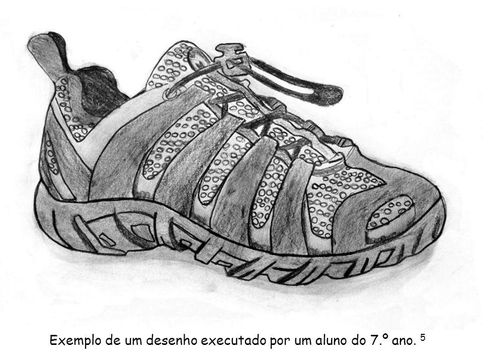 Exemplo de um desenho executado por um aluno do 7.º ano. 5