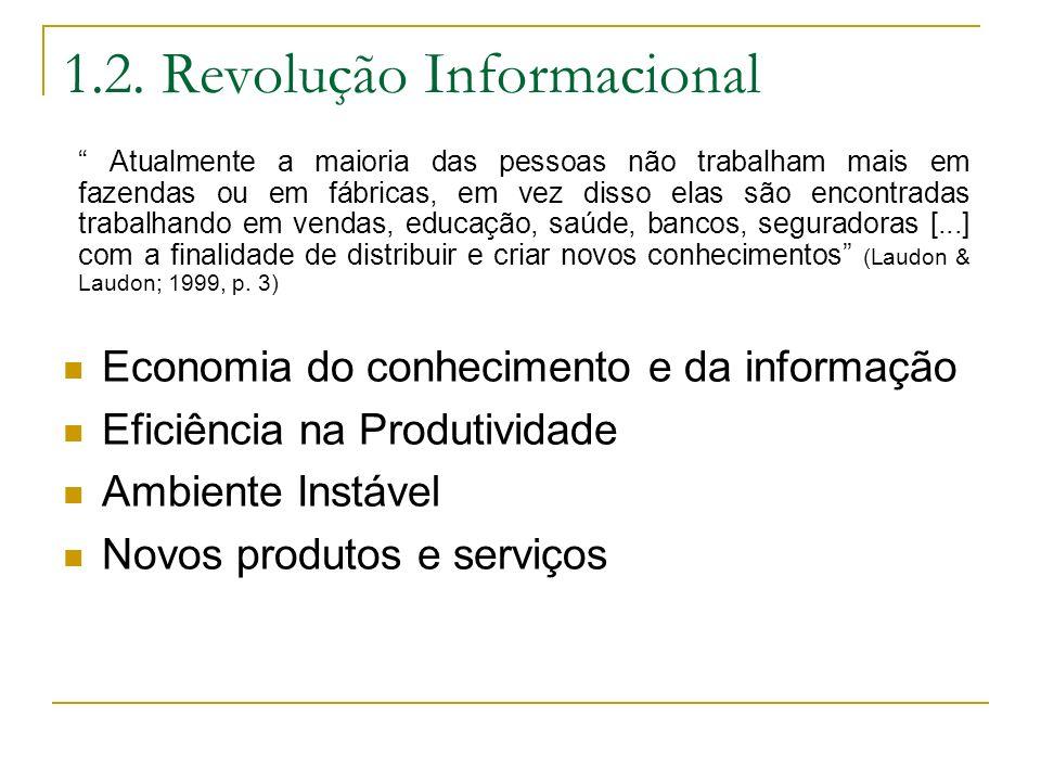 1.2. Revolução Informacional