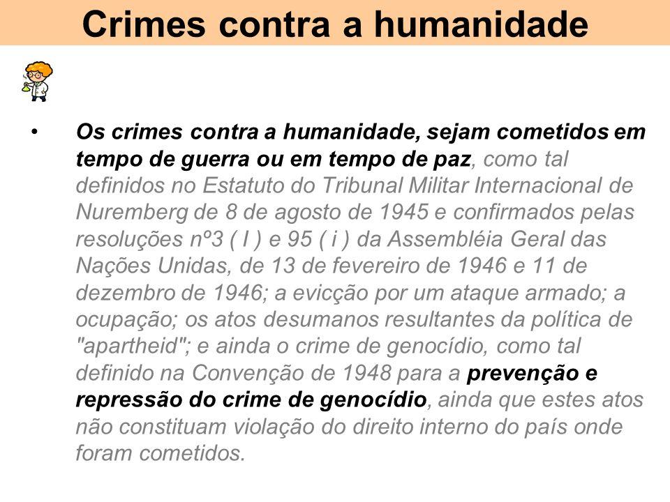 Crimes contra a humanidade