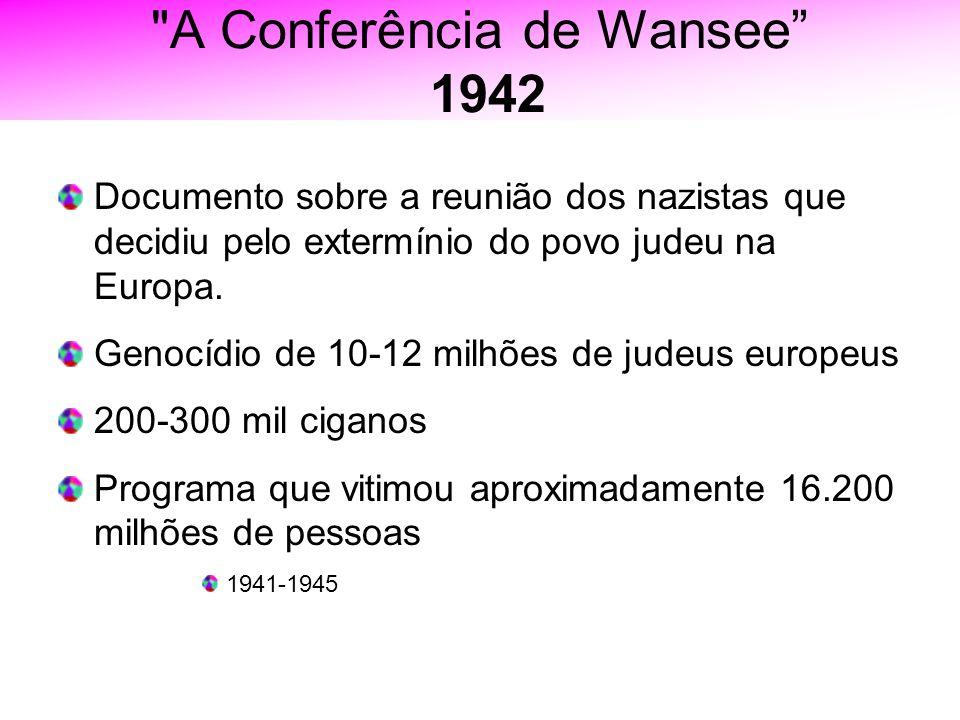 A Conferência de Wansee 1942