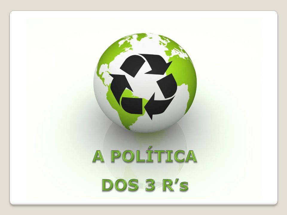 A POLÍTICA DOS 3 R's