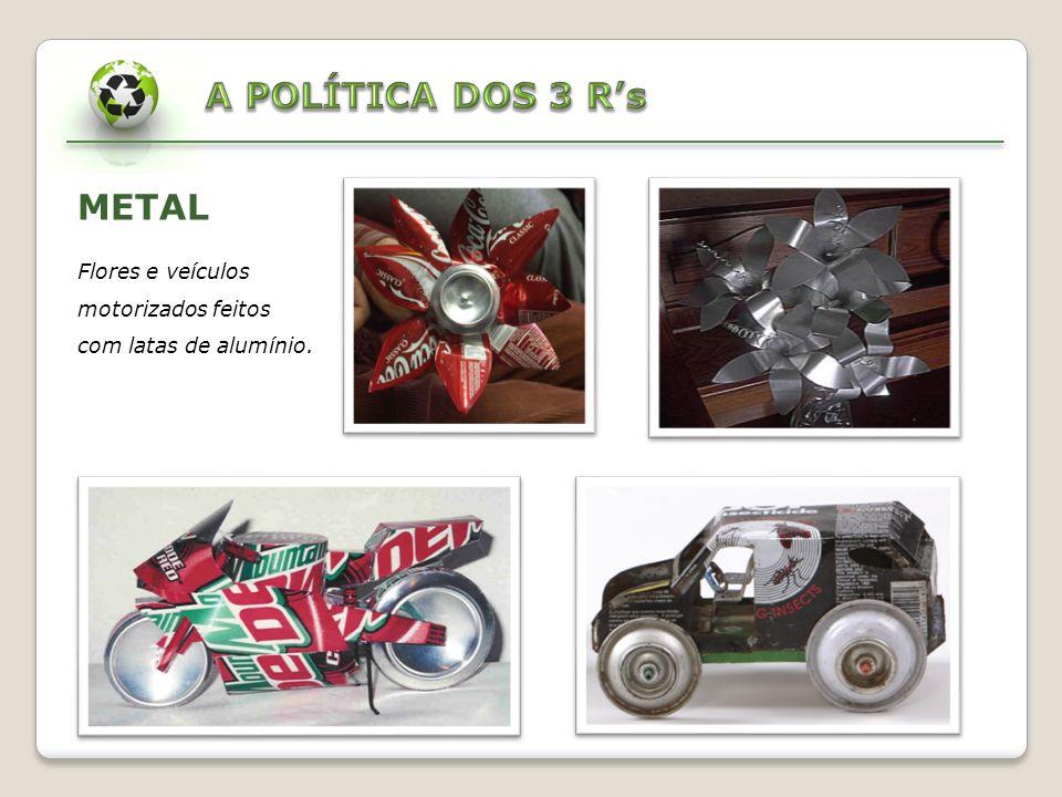 A POLÍTICA DOS 3 R's METAL