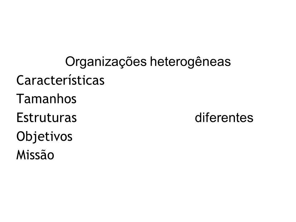 Organizações heterogêneas