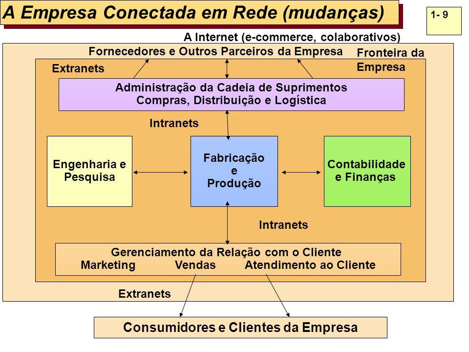 A Empresa Conectada em Rede (mudanças)