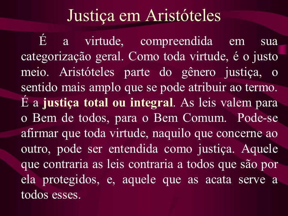Justiça em Aristóteles