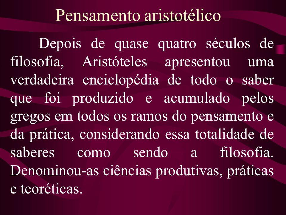 Pensamento aristotélico
