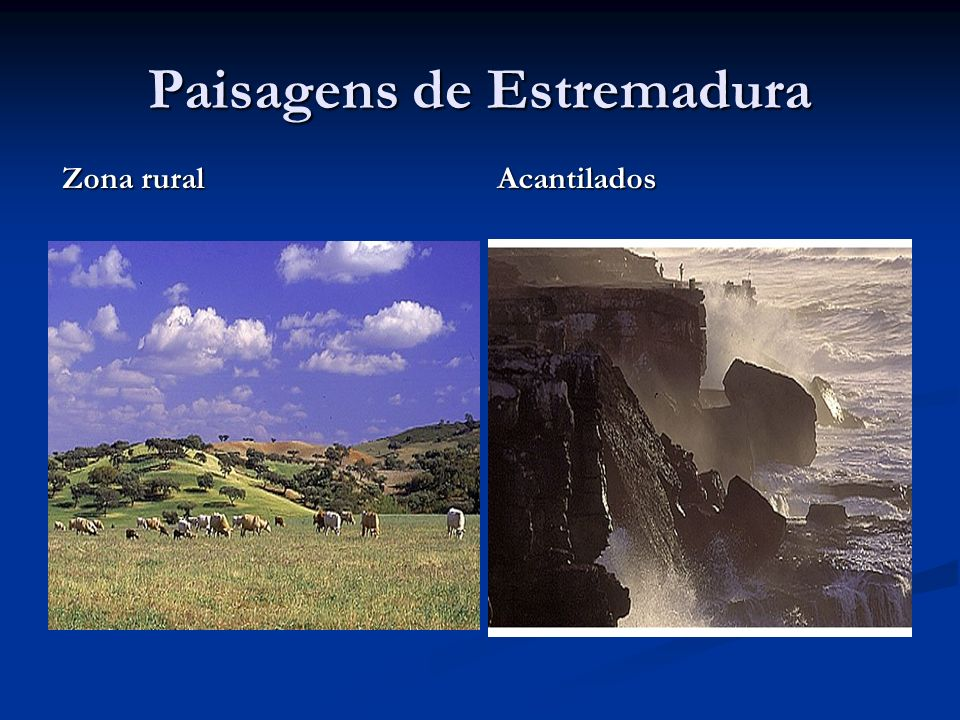 Paisagens de Estremadura