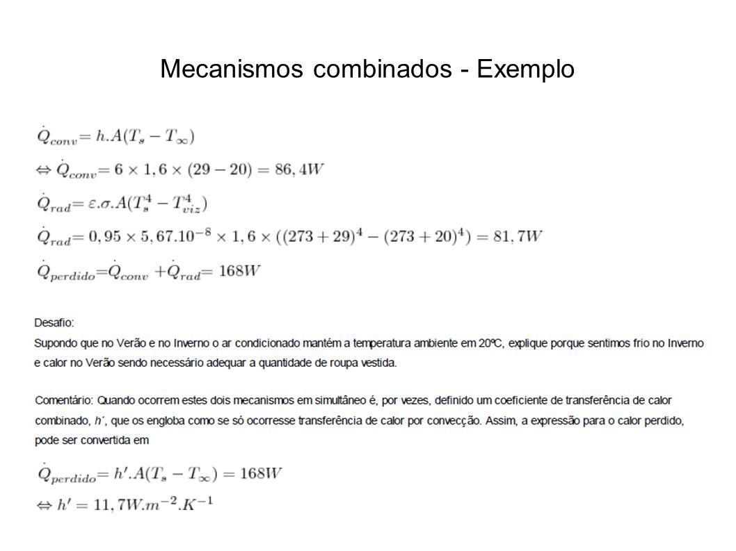 Mecanismos combinados - Exemplo