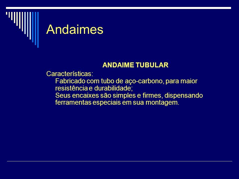 Andaimes ANDAIME TUBULAR
