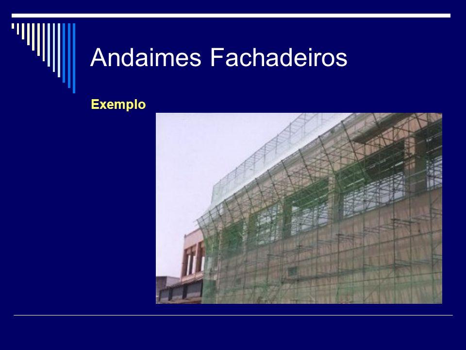Andaimes Fachadeiros Exemplo