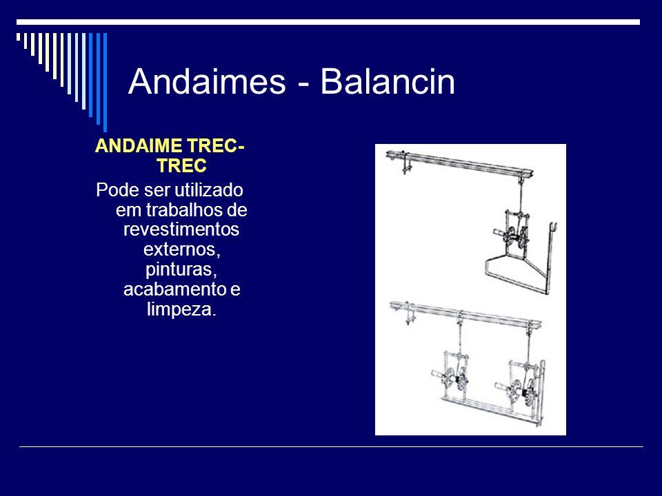 Andaimes - Balancin ANDAIME TREC-TREC