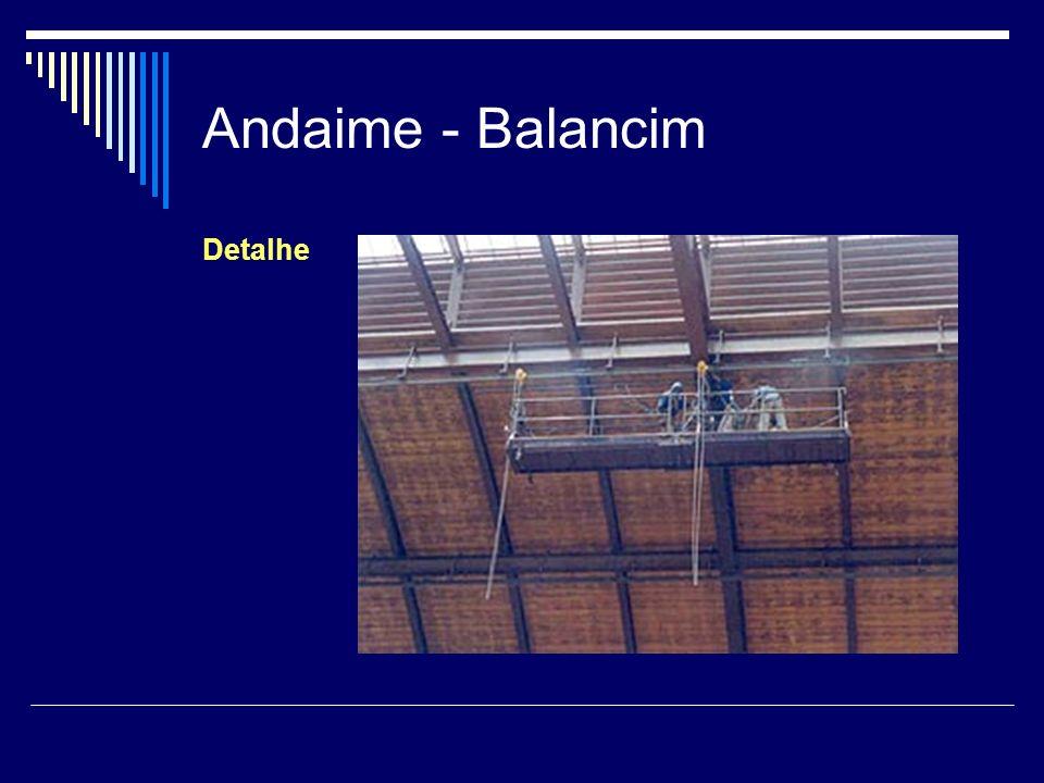 Andaime - Balancim Detalhe