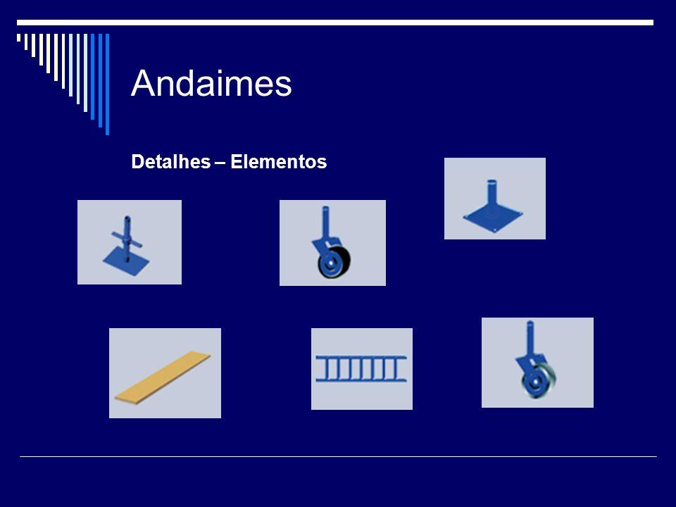 Andaimes Detalhes – Elementos