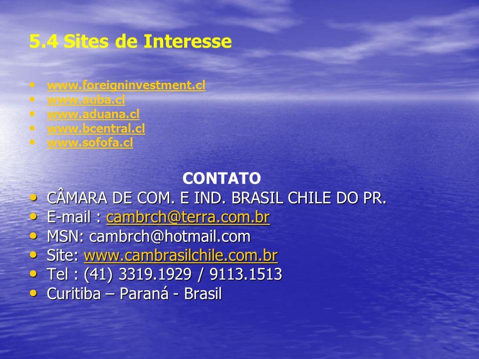 5.4 Sites de Interesse CONTATO