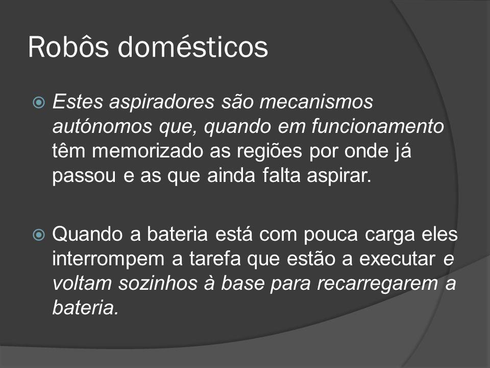 Robôs domésticos