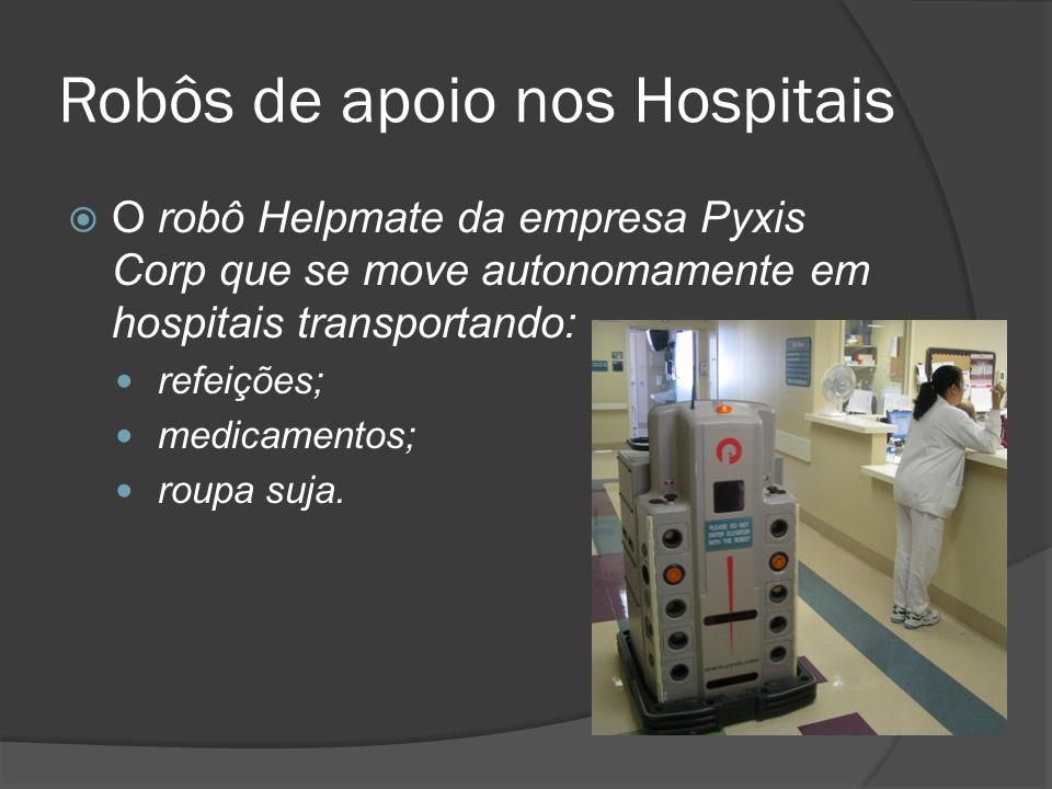 Robôs de apoio nos Hospitais