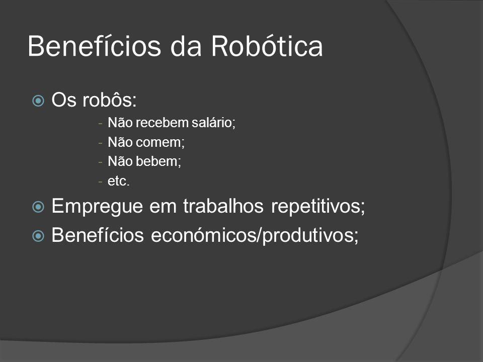 Benefícios da Robótica
