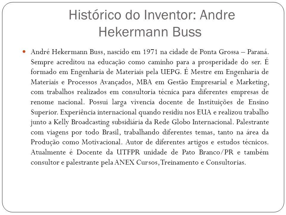 Histórico do Inventor: Andre Hekermann Buss