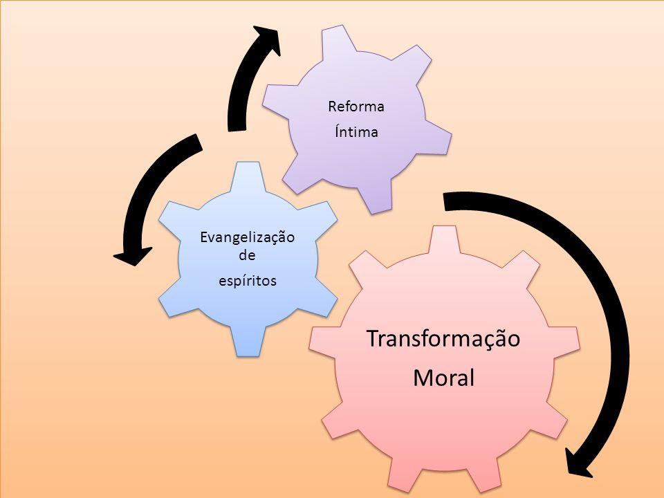 i Transformação Moral Evangelização de espíritos Reforma Íntima