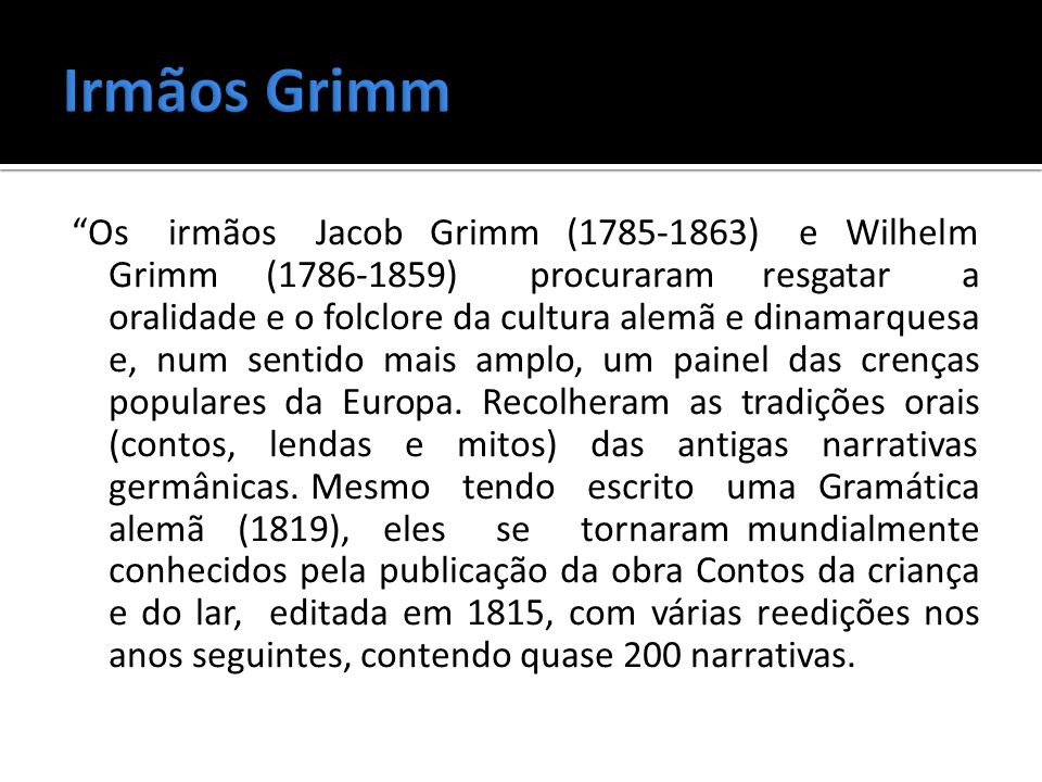 Irmãos Grimm