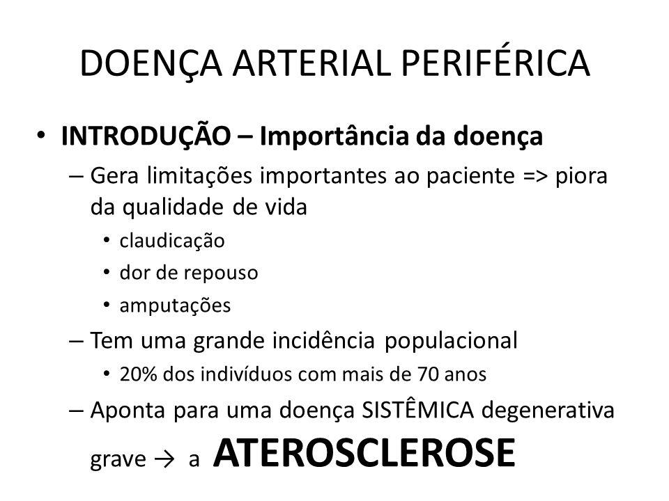 DOENÇA ARTERIAL PERIFÉRICA