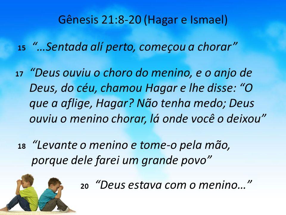 Gênesis 21:8-20 (Hagar e Ismael)
