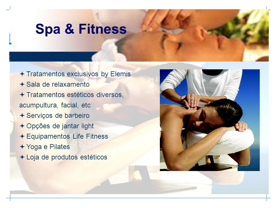 Spa & Fitness Tratamentos exclusivos by Elemis Sala de relaxamento