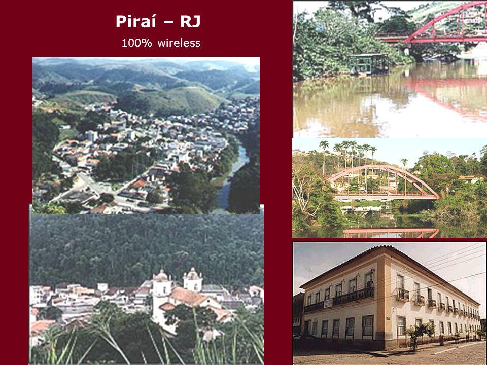 Piraí – RJ 100% wireless