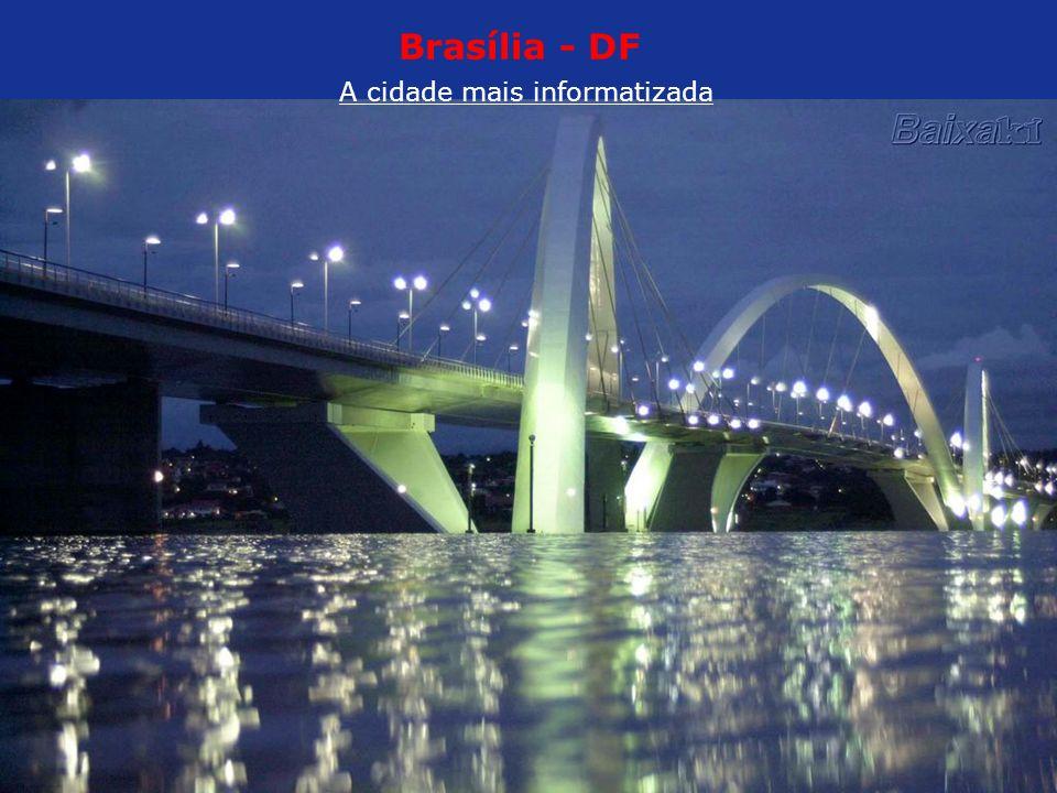 Brasília - DF A cidade mais informatizada