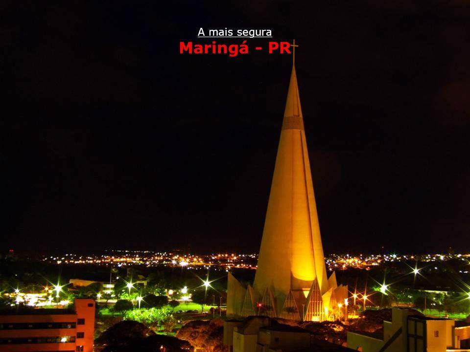 A mais segura Maringá - PR