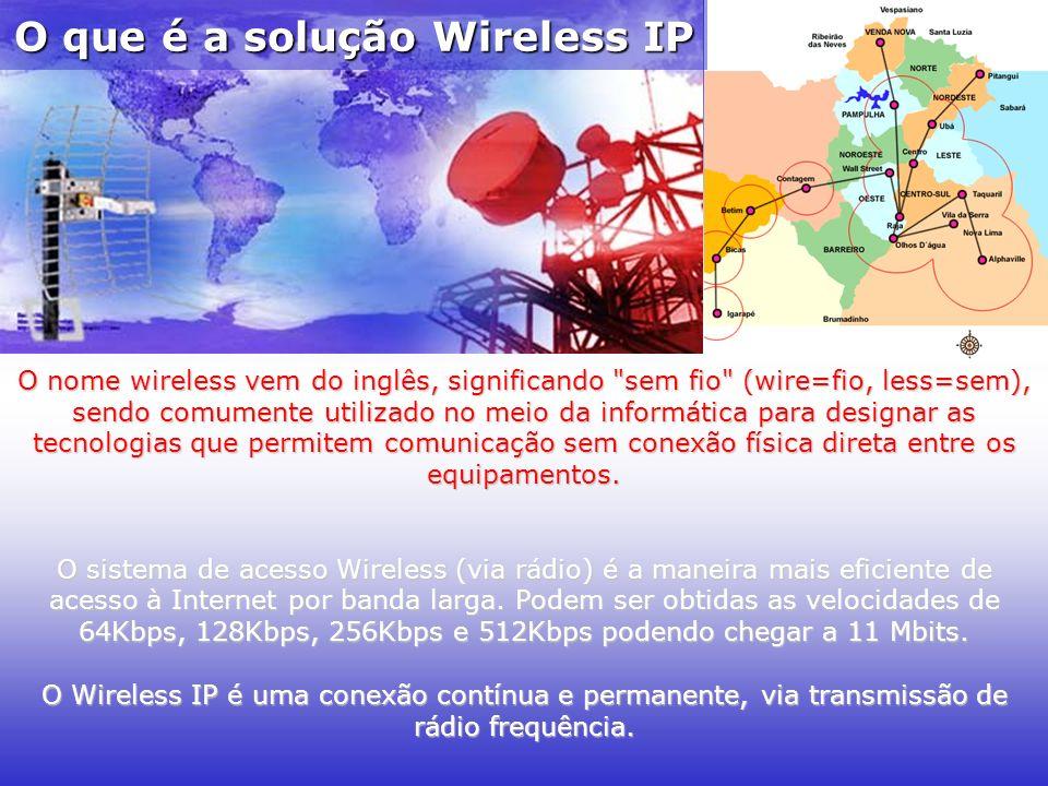 O que é a solução Wireless IP